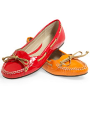 Patent driving moccasin, $29